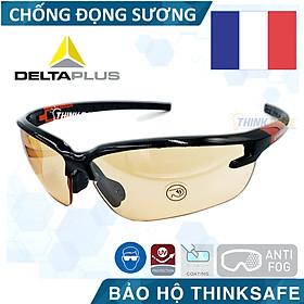 Kính bảo hộ Deltaplus Fuji2 chống bụi, chống vỡ vụn, mắt kính chống đọng hơi nước, kính chống tia UV , kiểu dáng hiện đại - Fuji2 Series