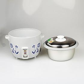 Nồi cơm điện 1lit có chống dính Nagakawaa, nấu tầm 1-2.5 lon gạo, công suất 400W, mẫu ngẫu nhiên-Hàng chính hãng