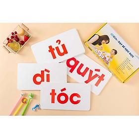 Bộ The Flashcard Glenn doman - Bộ 100 thẻ đọc Tiếng Việt Cho Bé
