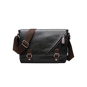 Túi đeo vai da nam cao cấp thời trang THT33 (23 x 30cm)