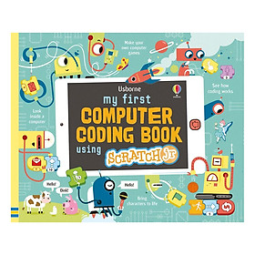 Usborne My First Computer Coding Book Using Scratch Jr