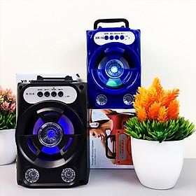 Loa Bluetooth Xách Tay Mini  XR-16 Âm Thanh Siêu Trầm LED Nháy Theo Nhạc -4443