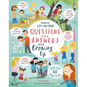 Sách tương tác tiếng Anh - Lift-the-Flap Questions & Answers About Growing Up