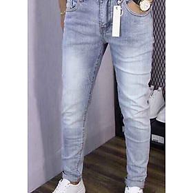 Quần jean dài nam trơn thời trang - B2000