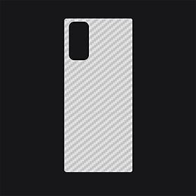Miếng Dán Mặt Lưng Vân Cacbon Dành Cho Samsung Galaxy Note 20 / Note 20 Plus/ Note 20 Ultra- Handtown- Hàng Chính Hãng