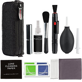 Professional Camera Cleaning Kit for Canon/Nikon/Pentax/Sony DSLR Cameras Lens Cleaning Pen Polishing Brush