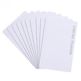 ( 10 Thẻ ) Thẻ RFID 125Khz, Thẻ RFID Proximity, Thẻ tần số LF, Thẻ Chip EM4100 125Khz
