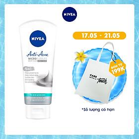 Sữa rửa mặt NIVEA Anti-Acne khoáng chất giúp ngừa mụn (100g) - 82327
