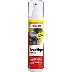 Nhũ Dịch Làm Sạch Và Bảo Quản Nhựa Trong, Ngoài Xe SONAX Trim Protectant high gloss finish (sprayer) 380041 (300 ml)