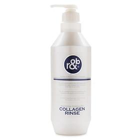 Dầu xả tóc Collagen cho tóc bóng mềm giảm mùi hôi ngăn tóc bạc sớm R&B Collagen Rinse, Hàn Quốc 450ml-1