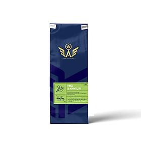 Trà xanh lài Bảo Lộc – Đamb'ri tỉ lệ vàng: 80% búp trà xanh 20% hoa lài tự nhiên túi 500gr