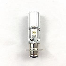 Đèn LED 2 chân M5 siêu sáng dành cho xe máy (màu bạc)