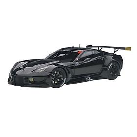Xe Mô Hình Chevrolet Corvette C7.R (Glossy Black) 1:18 Autoart - 81651 (Đen)