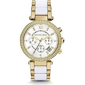 Michael Kors Women's Parker White Watch MK6119