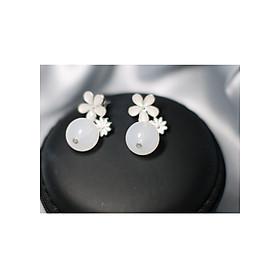 Hình đại diện sản phẩm Bông tai Hàn Quốc - Hoa tai đẹp sang chảnh - Khuyên tai đi dự tiệc, đám cưới, sinh nhật xinh xắn - Mẫu 42