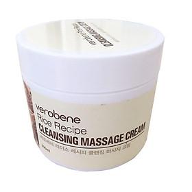 Kem Tẩy Trang Massage_Verobene Rice Recipe Cleansing Massage Cream 300 ml