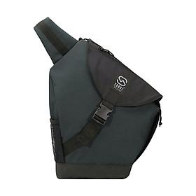 Balo Đeo Chéo Sonoz Le Sling Bag BLEU0617 (34 x 43 cm) - Xanh Phối Đen