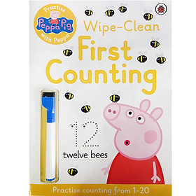 Peppa Pig: Practise with Peppa: Wipe-Clean Counting - Peppa Pig (Paperback)