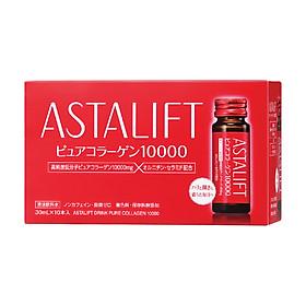 Collagen dạng nước chống lão hoá chuyên sâu Astalift Drink Pure Collagen 10,000mg (10 chai x 30ml)