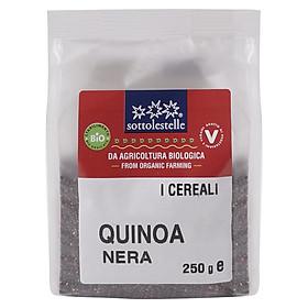 Hạt Diêm Mạch Quinoa Đen Hữu Cơ 250g Sottolestelle Organic Black Quinoa
