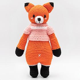 Thú Bông Cáo Foxxie Bobi Craft Đứng WT-213ORG-F-M (Cam)