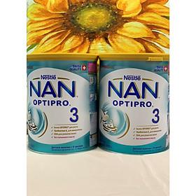 Combo 2 hộp Sữa Bột Nestlé NAN Nga Optipro 3 (800g) - 12 đến 18 tháng