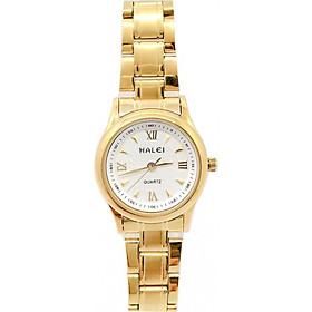 Đồng hồ Nữ Halei HL4890 Dây vàng