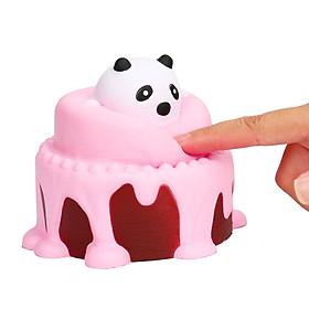 Squishy mô hình bánh kem Panda