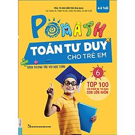 OMath - Toán Tư Duy Cho Trẻ Em (4-6 tuổi) Tập 6 (Tặng Bookmark độc đáo RC)
