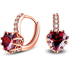 Earring of The Heart of Hhe Peach Gift Birthday