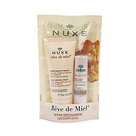 Bộ kem dưỡng tay và son dưỡng Nuxe