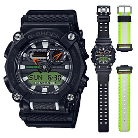 Đồng Hồ Casio G-Shock GA-900E-1A3 Nam - 2 Bộ Dây - Chống Nước 200M - Bảo Hành Chính Hãng 5 Năm