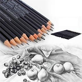 Siaonvr 14PC Painting Tool 6H-12B Professinal Sketch Art Drawing Pencil Sketching Pencil
