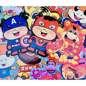 Hot - Phong bao lì xì hình thú Tân Sửu 2021 siêu đẹp, hình ảnh đa dạng