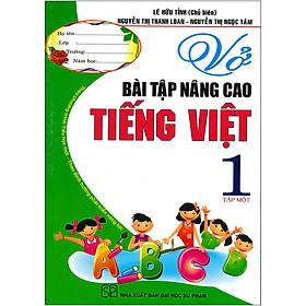 Vở Bài Tập Nâng Cao Tiếng Việt 1 Tập 1