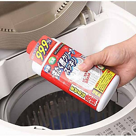 Nước vệ sinh tẩy lồng máy giặt cửa trên và cửa ngang 550ml nội địa Nhật Bản