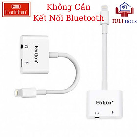 Bộ Chuyển Đổi Từ Lightning Sang Tai Nghe Và Lightning Chân Sạc Dành Cho Apple iPhone/iPad, Không Cần Kết Nối Bluetooth, Tốc độ truyền dữ liệu cao - Hàng Chính Hãng