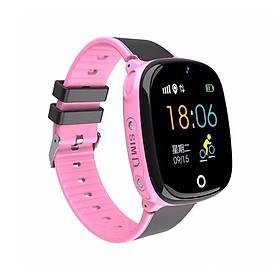 Đồng hồ định vị trẻ em GPS nghe gọi SmartKI HW11 cảm ứng tiếng việt, có camera, kháng nước cao cấp - Hàng nhập khẩu