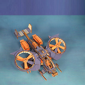 Đồ chơi lắp ráp gỗ 3D Mô hình Máy bay Bọ Cạp XC-G008H