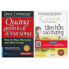 Combo Tâm Hồn Cao Thượng + Quẳng Gánh Lo Đi Và Vui Sống (2 Cuốn)