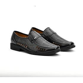 Giày lười da nam có thiết kế độc đáo - Lex62