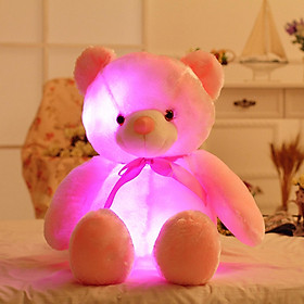 Light Up LED Teddy Bear Animal Plush Toy Kids Toys Gifts