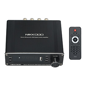 NIKKODO NA-568 Mini HiFi Audio Receiver Amplifier Bluetooth 5.0 Audio Receiver Transmitter Digital Audio Power Amplifier