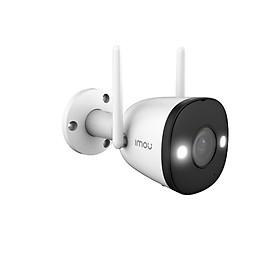 Camera Ip Wifi Imou F22FP Hình Ảnh Đầy Màu Sắc Ngay Cả Vào Ban Đêm Full HD 1080P Bullet 2E Tặng Kèm Dây Nối Nguồn 20M - Hàng Chính Hãng