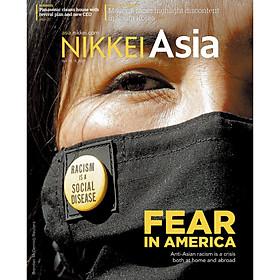 Nikkei Asian Review: Nikkei Asia - 2021: FEAR IN AMERICA - 15.21 tạp chí kinh tế nước ngoài, nhập khẩu từ Singapore