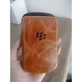 Bao Da Rút Blackberry Torch 9800/9810 Màu Vàng Bò Mới - Hàng nhập khẩu
