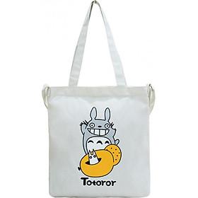 Túi Vải Tote Đeo Chéo Totoror Bánh