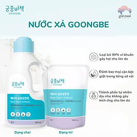 Nước xả quần áo cho bé Goongbe Hàn Quốc dạng chai 1,5L