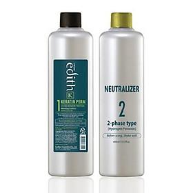 Thuốc uốn tóc, chỉ sử dụng trong salon chuyên nghiệp Keratin Livegain Premium EDITH K 400ml