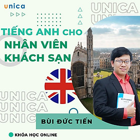 Khóa học NGOẠI NGỮ- English for hospitality -[UNICA.VN